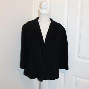 Vintage  Neiman Marcus 100% cashmere Black M